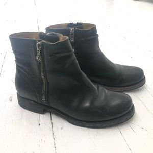 Black Frye Boots 7.5 Leather